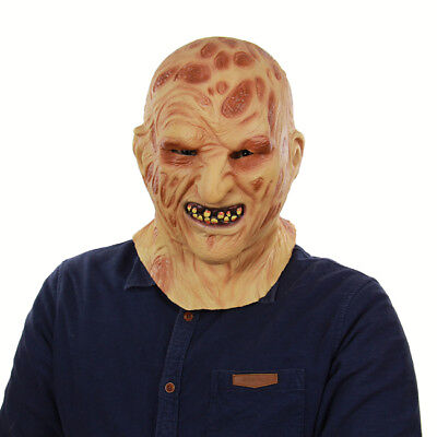 Morris Costumes Adult Unisex Full Over The Head Zombie Latex Mask MAJMEC101