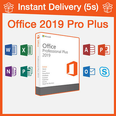Microsoft Office 2019 Pro Plus Instant Delivery License key Office 2019 Pro Plus