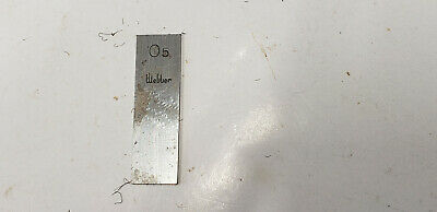 0.5mm Webber Starrett Rectangle Steel Gage Gauge Block. shelf-f4 #2 webber box