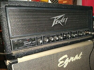 Peavey Triumph 120 Head 120 watt tube (Mesa Mark V competition in 80s)