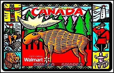 Walmart Canadian Life Style Moose Mounty Police #Fd21869 Collectible Gift Card