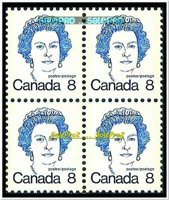 Canada 1973 Canadian Queen Elizabeth Ii Mint Fv Face 32 Cent Mnh Stamp Block