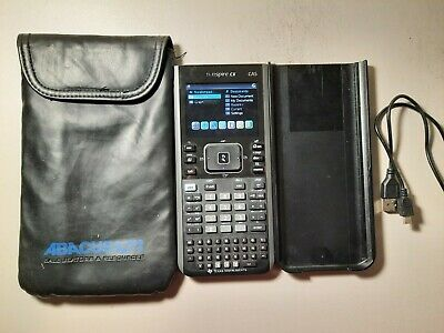 Very Good Texas Instruments TI-Nspire CX CAS Graphing Calculator - Free POST