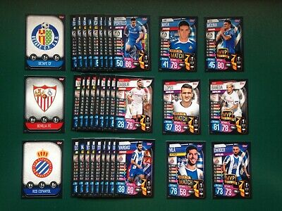 Topps Match Attax Champions League 2019/20 -- Complete Set Iberian Edition