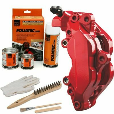 Heat Resistant Brake Calliper Paint Kit For All Car & Motorcycle Models Red