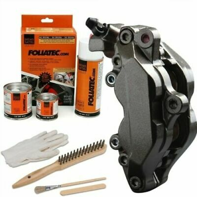Heat Resistant Brake Calliper Paint Kit All Car & Motorcycle Models Carbon Grey