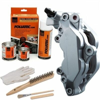 Heat Resistant Brake Calliper Paint Kit For All Car & Motorcycle Models Silver