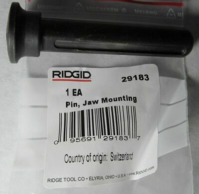 New Genuine Ridgid 29183 Jaw Mounting Pin For Hydraulic Pressing/ Crimping Tool