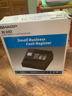Sharp Cash Register  XE-A107 Used Once In Original Box