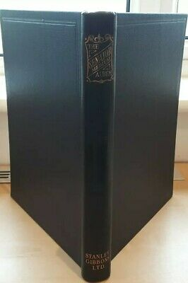 Stanley Gibbons 75 page Senator Medium Black Stamp Album. NEW