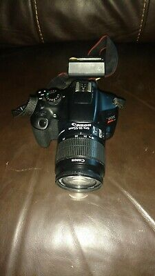 Canon EOS Rebel T6 18.0MP Digital SLR Camera with 18-55 mm lens and charger