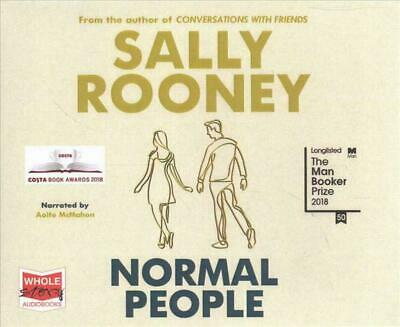 Normal People by Sally Rooney BRAND NEW CD AUDIOBOOK EXPEDITED SHIPPING FROM USA