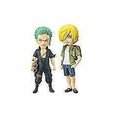 "Movie ""ONE PIECE STAMPEDE"" OP / World Collectable Figure vol.2 2 Set Zoro Sanji"