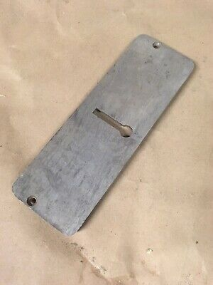 Shopsmith - 10E 10ER - Early Magna Jigsaw Table Insert - With Stopped Keyhole