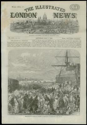 1869 HAMPSHIRE PORTSMOUTH Dockyard Workmen Emigrants (62)