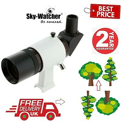 SkyWatcher 9x50 Right-Angled Finderscope With Bracket 20933 (UK Stock)