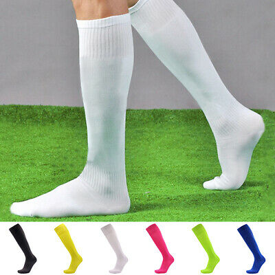 Polyester Football Socks Mens Women Soccer Long Sports Rugby Hockey Training