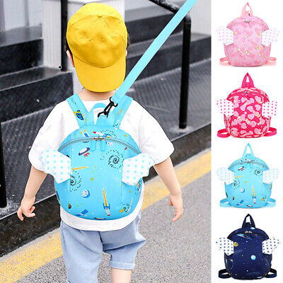 Unisex Boys Girls Kids Adjustable Strap Wallet Travel Anti Lost Phones Backpack