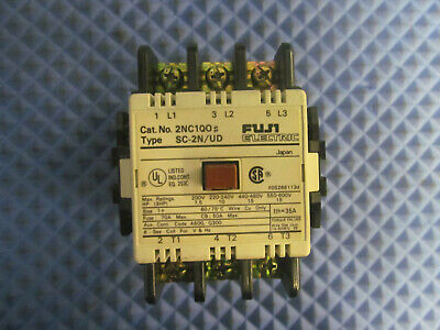 Fuji Electric Magnetic Contactor SC-2N/UD 220-240V Coil