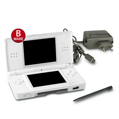 Original Nintendo Ds Lite Handheld Konsole In Weiss / White #71B