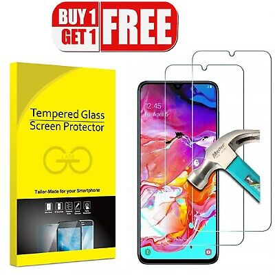Tempred Glass Screen Protector For Samsung Galaxy A10 A20e A40 A50 A70 A80 Film