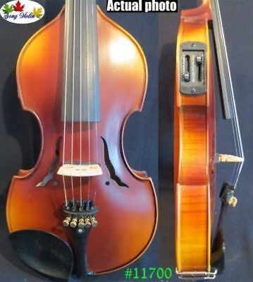 Baroque style 5 strings electric violin 4/4 full size Acoustic violin