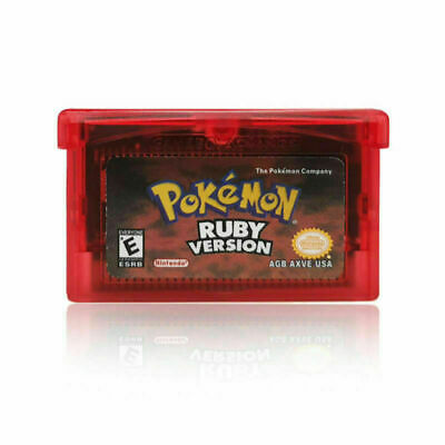 Pokemon Ruby Version GBA Gameboy Advance Gameboy Reproduction SHIPPING From USA