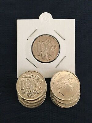 2018 10 cent coin Low Mintage 2.6 Million Minted