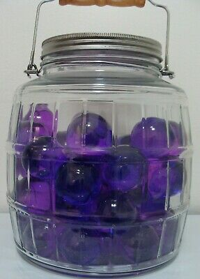 Marbles 1 Huge Glass Gem Purie Jewel Marble Sweet Purple Play Collect Display