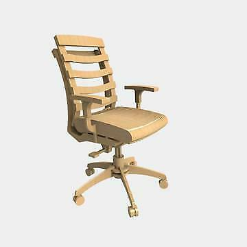 DXF, CDR, SVG, Laser Cutting Files, Plan For CNC Spinning chair