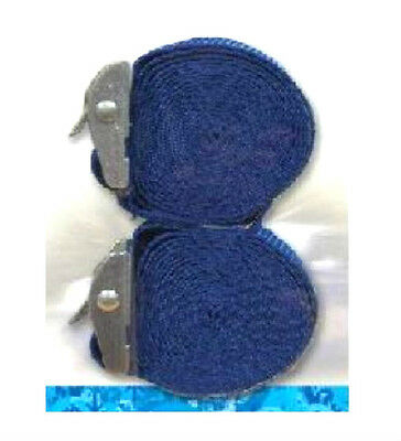 Tie Down Straps Streetwize 2 x 2.5 Metres Travel Accessories Not Ratched Grip