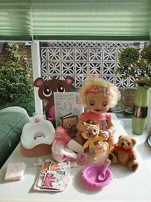 HASBRO Rare Baby Alive Learn To Potty Doll & BA Accessories Fantastic Condition