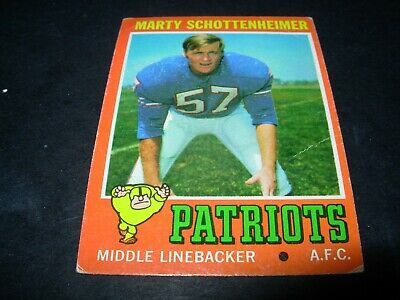 "1971 Topps football Stars and Rookies ""You Pick Them""  $3.00 each 8 available"