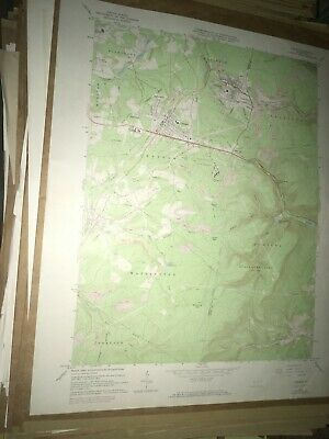 Cresson PA Cambria Co USGS Topographical Geological Survey Quadrangle Old Map