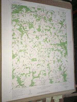 Saxtonburg Pa.Butler Co USGS Topographical Geological Survey Quadrangle Old Map