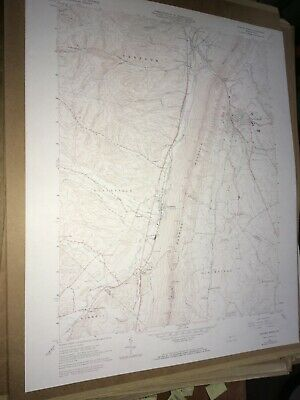 Roaring Spring PA Blair Co. USGS Topographical Geological Survey Quadrangle Map