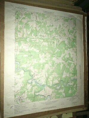 Dayton Pa. Armstrong County USGS Topographical Geological Survey Quadrangle Map