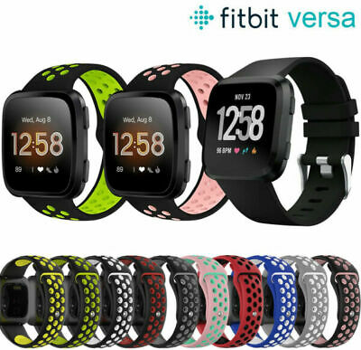 For Fitbit Versa 2 1 Lite Sport Silicone Watch Strap Band Wristband Replacement