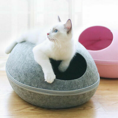 Creative Pet Cat/Kitten Dog/Puppy Bed  Sleep Cave House Egg-shell Kennel SALE