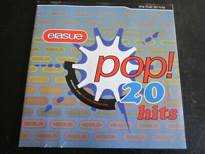 Erasure - Pop! The First 20 Hits: 1992 Mute CD Album (Electronic, Synth-Pop)