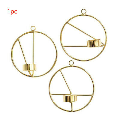 Geometric Candlestick Crafts Iron Art Living Room TV Cabinet Bedroom Home Wall