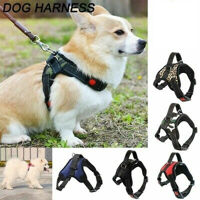 XS~XL No Pull Dog Harness Reflective Safety Pet Vest Adjustable w/Handle Strap