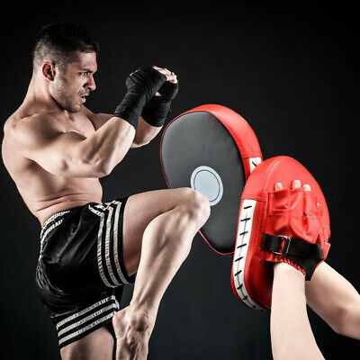 Boxing Punching MMA Mitts Gloves Target Focus Pad Gear for Focus Training