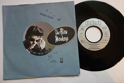 "The Blow Monkeys Digging Your Scene 1986 Jukebox 7"" Single Germany Mint Unplayed"