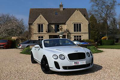 2010 Bentley Continental Gtc Supersports Convertible Petrol