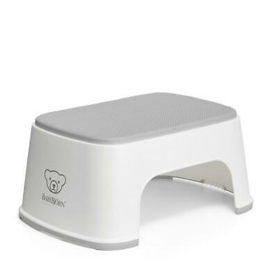 Baby Bjorn Step Stool for Toilet Training (White) (BabyBjorn) Free Shipping!