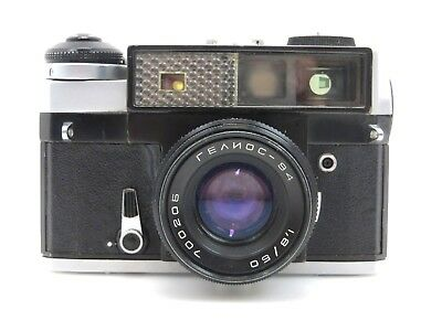 Kiev 5 mit Helios 94 lens f1,8 50 mm No 700205 camera No 7001736 sj056