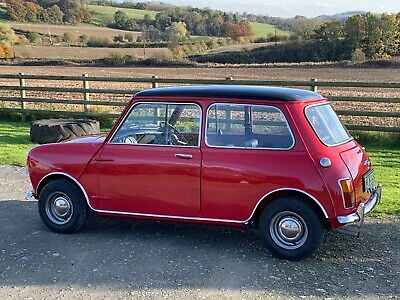 Stunning Classic 1968 Mini Copper MkII 998cc Fully Restored 3 Owners from new
