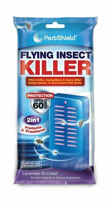 2 in 1 Flying Insect Killer, prevent new infestations, moths mosquitos