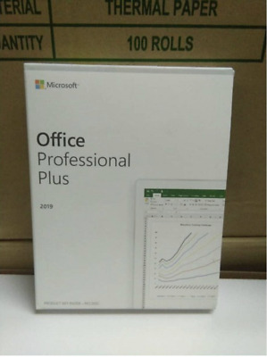 Genuine Microsoft Office 2019 Professional Plus Retail On USB - For 1 PC